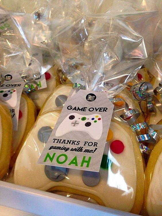 Video games Birthday Party Ideas | Photo 1 of 35 | Catch My Party