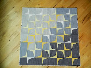 Trajectory quilt tutorial by monkey beans