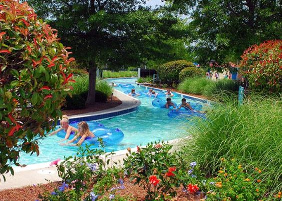 A lazy river, slides, music, games and prizes, and more - how fun! Myrtle Waves Water Park - Myrtle Beach, South Carolina