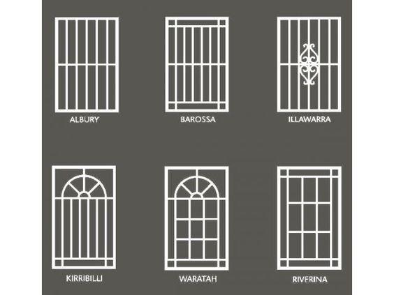 Home Front Elevation Steel Grill Design : Window grills design philippines house floor