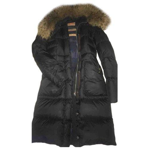 Parajumpers Black Coat Parajumpers Cloth Coat Winter Jackets Black