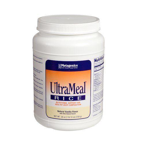 Amazon.com: Metagenics UltraMeal RICE Vanilla 26oz (729g): Health & Personal Care