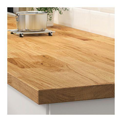 Karlby Oak Veneer Worktop 186x3 8 Cm Ikea Karlby Countertop