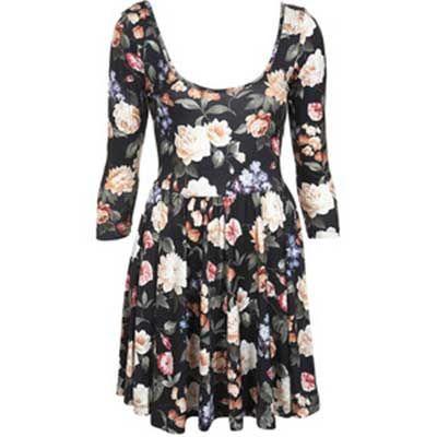 vestidos evangelicos floridos 1