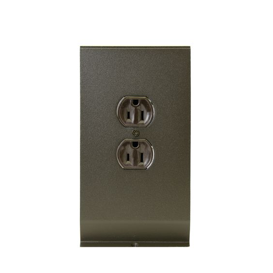 Hydronic / Architectural Style Baseboard Receptacle Section