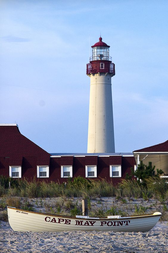 Cape May Point Lighthouse New Jersey Images
