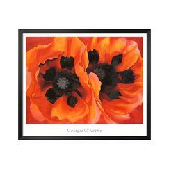 Art.com - Oriental Poppies 1928 Framed. Love the flower and the colors.