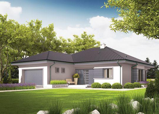 Projekt Domu Eris Ii G2 Wersja C Energo Desain Arsitektur Arsitektur Dekorasi Rumah