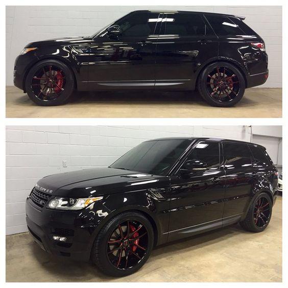 "25 Best Ideas About Range Rover Sport On Pinterest: ""2015 Range Rover Sport With Custom 22"" @saviniwheels"