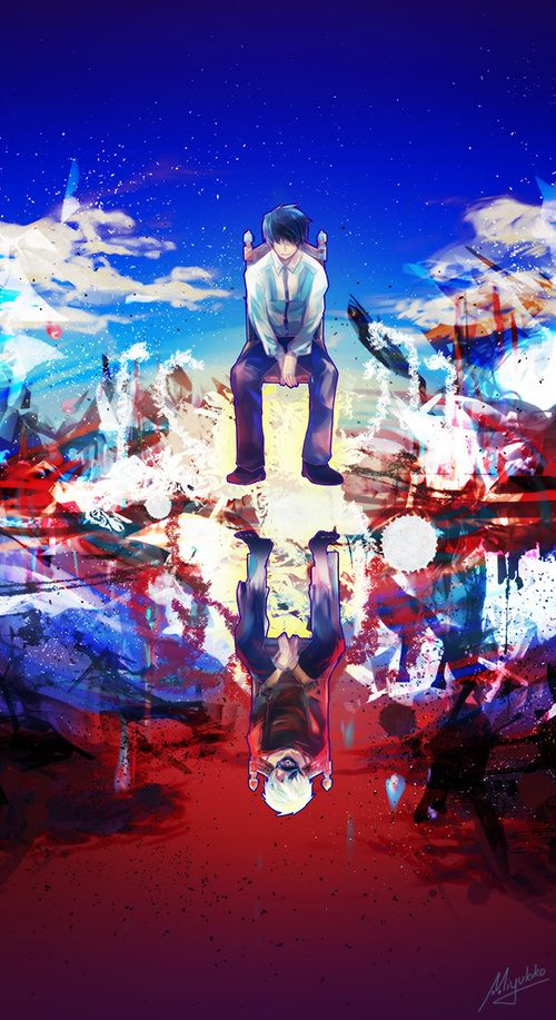 アニメオープニング風東京グールの画像