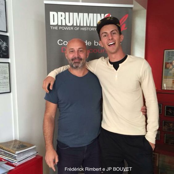 Friday 18th and Saturday 19th September 2015 in #Paris at #DrummingLab - 9 rue de L'Éperon - #private #lessons with JP BOUVET. @dwdrums @vicfirth @meinlcymbals @meinlpercussion  #Frederick #Rimbert