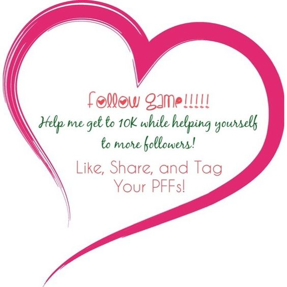 New Following Game!!!! Follow everyone who likes this listing, Like, Share, and Tag Your PFFs! Other