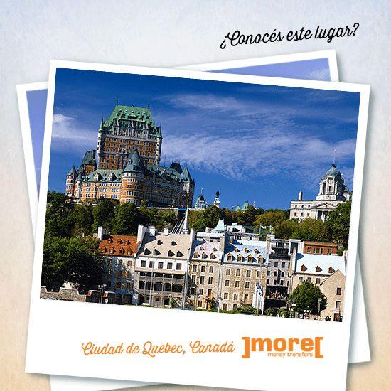 → ¡Llegamos hasta #Canadá! Si ese es el destino de tu remesa te contamos que llegamos también a #Quebec