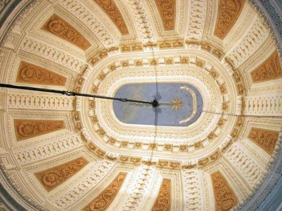 Palazzo Torri - volta della sala da biliardo