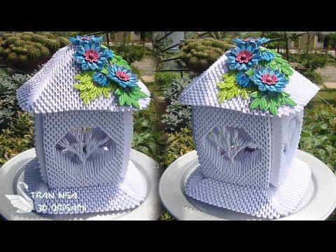 Paper Lamp Tutorial Home Decoration Idea 3d Origami Lamp V6 Tutorial De Lampara De Origami 3d Youtube In 2020 Origami Lamp 3d Paper Crafts 3d Origami Tutorial