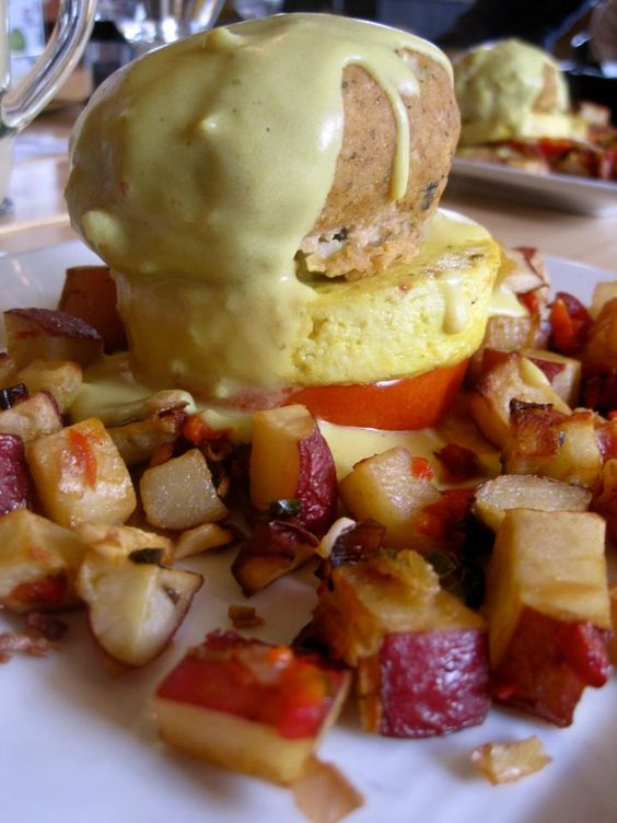 Baltimore Benedict from Great Sage in Clarksville, MD.