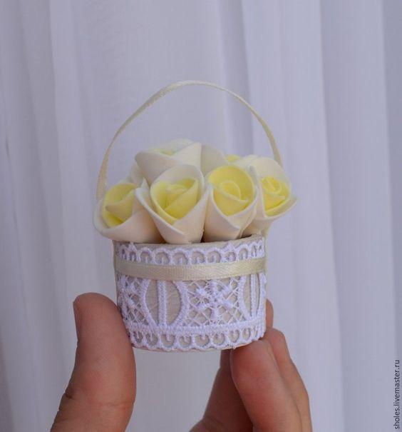 Как сделать миниатюрную корзиночку за 30 минут - Ярмарка Мастеров - ручная работа, handmade