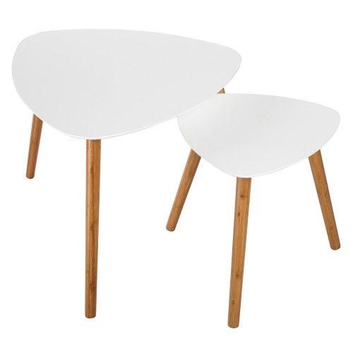 Table Basse Scandinave Blanche Lot De 2 Achetez Nos Tables Basses Scandinaves Blanches Lot De 2 Table Basse Scandinave Table Basse Table Basse Bois