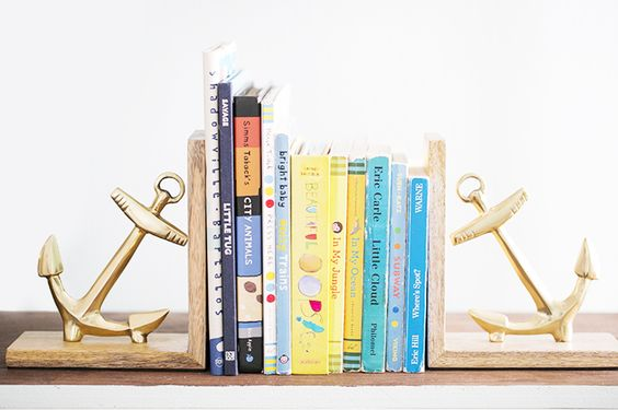 A Totally Rad Kid's Room Makeover // boys room, anchor bookends, bookshelf: Kids Rooms Decor, Boys Room Decor, Kids Spaces, Room Makeover, Children Spaces, Children S Rooms, Children Room, Boy Rooms, Kid Rooms