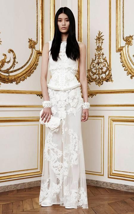Our Favourite Givenchy Wedding Gowns by Riccardo Tisci Wedded