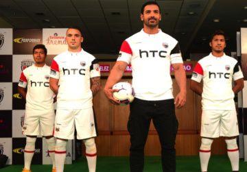 NorthEast United FC 2015/16 Home and Away Kits