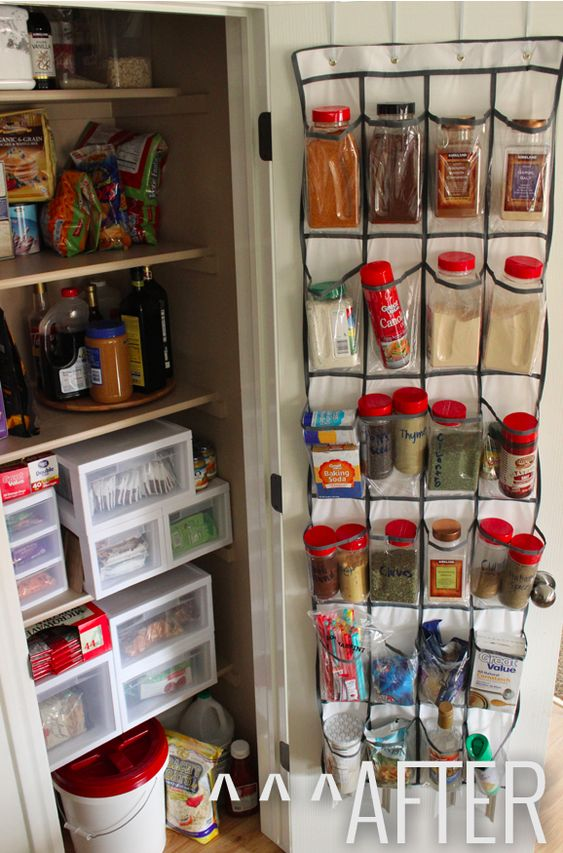 shoes organizer pantry and the back on pinterest