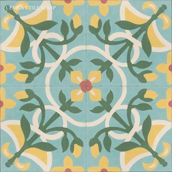 Cement Tile Shop - Handmade Cement Tile | Vine: