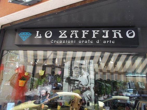 Lo Zaffiro, Via Verdi Ovest #Mestre #tuttaperme #artigiani #artigianale #orafo #moda #shopping #gioielli
