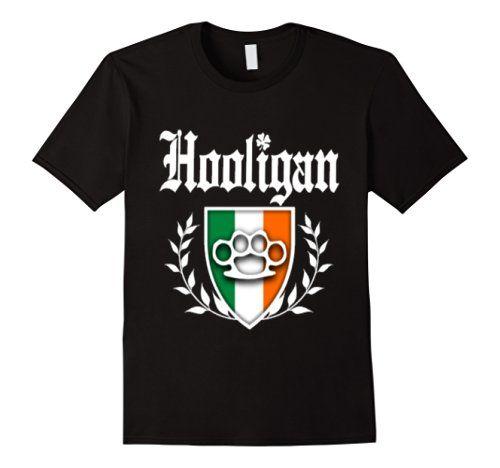 Cool Apparel Shop Irish Hooligan for St Patricks Day Sweatshirt
