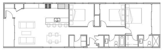 1,520 sq ft; 3 bed; 2 bath; Hive, A002 concept