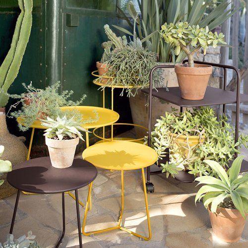 Beistelltisch Cocotte Von Fermob Lisel De Beistelltisch Tisch Gartenmobel