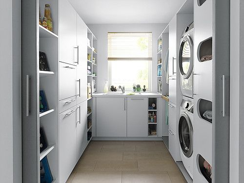 U Shaped Layout Utility Rooms Utility Room Laundry Room Design