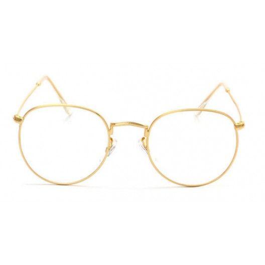 Lunettes sans correction 90's monture dorée et verres arrondis pour un effet rétro assuré ! http://www.lunette-vintage.fr/fausses-lunettes-de-vue/747-lunette-90-vintage-doree.html #eyeglasses #eyeware #vintage #retro #lunettes #shades #frames #lunettevintage #fashionaccessories
