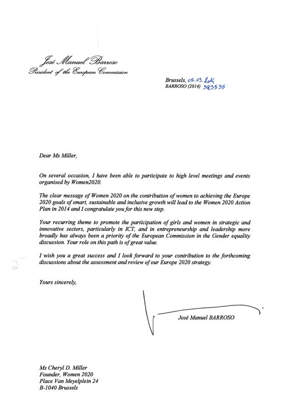 successful dli launch barroso letter for women Home Design Idea - community service letter
