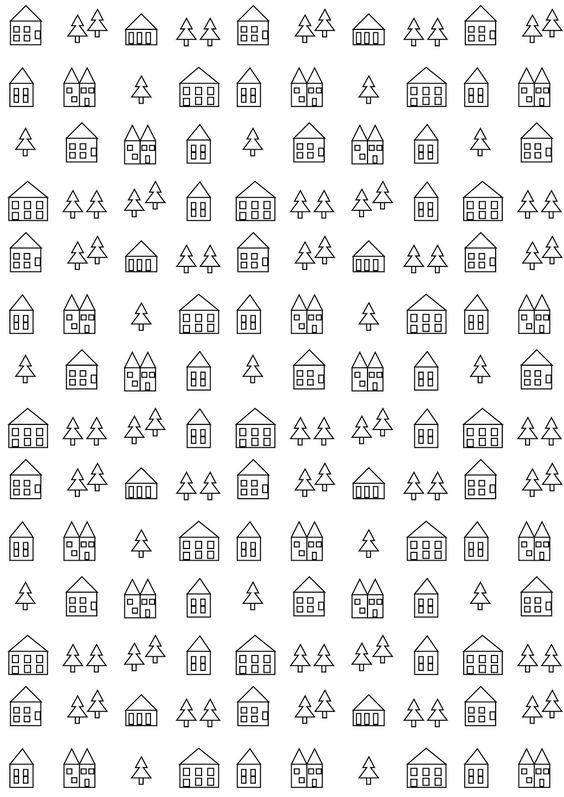 FREE printable coloring page   make a unique gift wrapping paper out of it!