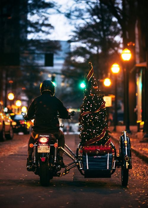 Christmas is better with a sidecar.: