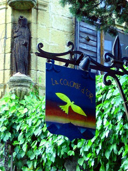 La Colombe d'Or began life in the twenties as an unpretentious café just outside the ramparts of Saint-Paul-de-Vence. By 1931 Picasso, Signac, Dufy, Bonnard and Matisse were all regulars and, as legend had it, they'd settled the debt incurred in their leaner years with works of art. The hotel is packed full of these amazing pieces of art which you are welcome to view if you eat here.  An absolute must for art lovers.