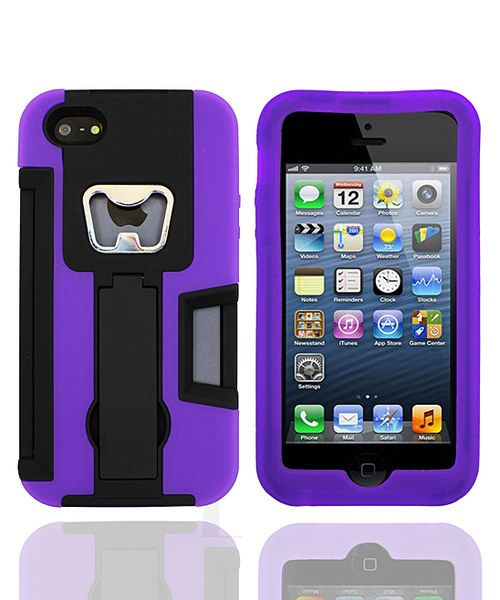 Take a look at this Black & Purple Armor Party Case for iPhone 4/4S on zulily today!