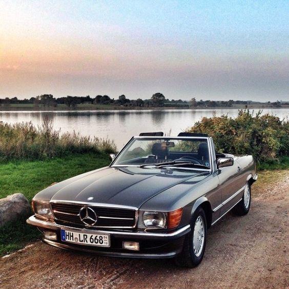 DRIVING BENZES — Mercedes-Benz 300SL (Instagram @mercedesbenz)