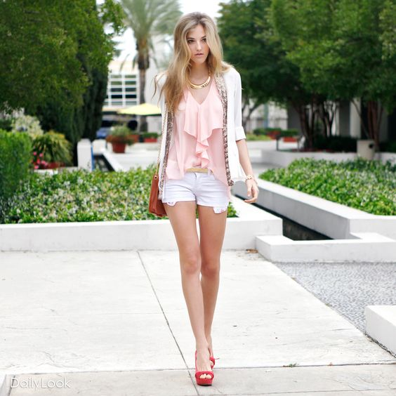 Check out Glass of Rosé Look by Double Zero and Cello Jeans at DailyLook