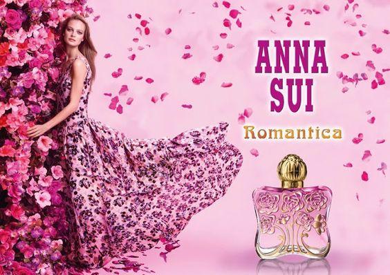 Fantasy Fashion Design: Ine Neefs sueña con la fragancia Anna Sui Romantica