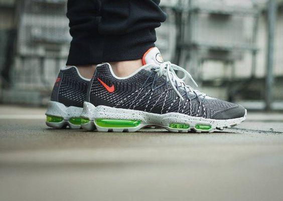 e57e1b13ee ... Nike Air Max 95 Ultra Jacquard Pure Platinum BlackWhite Ooooh my feet !