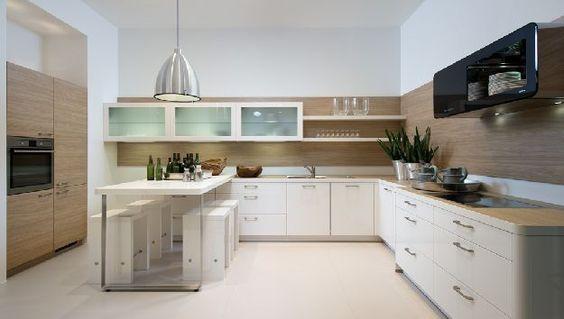 Große Nolte-Küche in Winkelform
