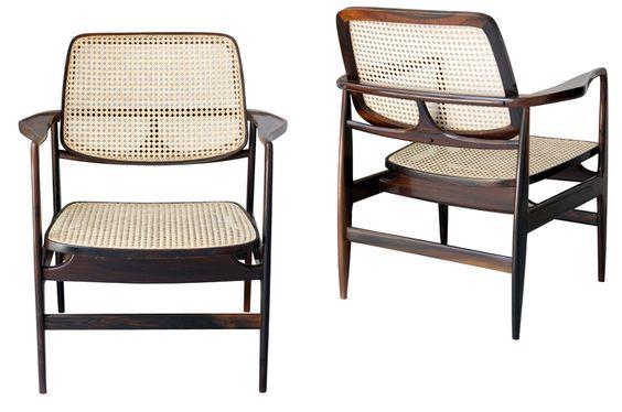 Cadeira Oscar Niemeyer - Sergio Rodrigues