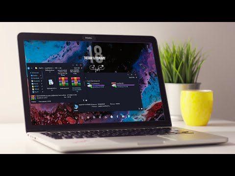 Paranoid Windows 10 Themes 2020 Make Windows Look Better Desktop Makeup Youtube Desktop Themes Aesthetic Desktop Wallpaper Cool Desktop Wallpapers