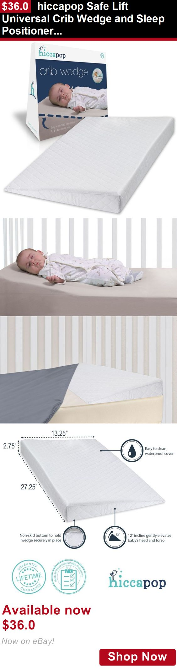 Crib wedges for babies - Baby Safety Sleep Positioners Hiccapop Safe Lift Universal Crib Wedge And Sleep Positioner For Baby