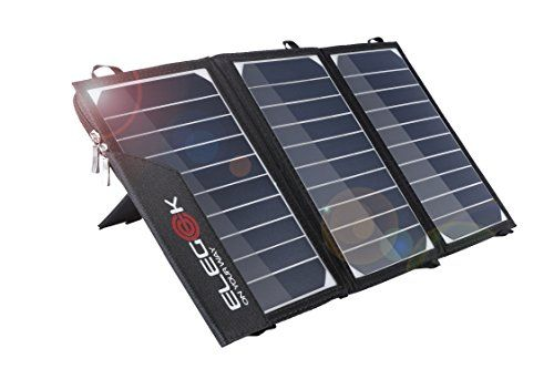 Cheap Elegeek 15w High Efficiency Folding Solar Panel Charger Built In Icgeek Fast Charging With Dual Usb Output And Adjustable Stand 15w 5v Solar Panel Charger Dual Usb Fast Charging