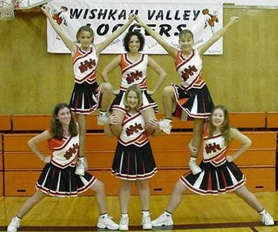 Youth cheer stunts - Google Search