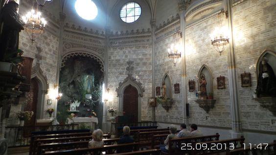 C Fortuny 21 Madrid Oratorio De Ntra Sra De Lourdes Oratoria Mundo Virgen