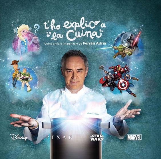 SETEMBRE-2016. Ferran Adrià. T'ho explico a la cuina. CUINA I 64 ADR.